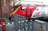 Train crashed into Chester Station ©Camilla Long